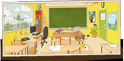Beneylu School's classroom